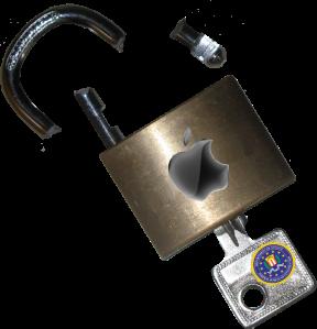 Broken-Apple-Lock